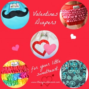 Valentines Cloth Diapers for Your Little Sweetheart