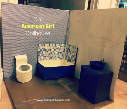 Diy American Girl Dollhouse The Inquisitive Mom