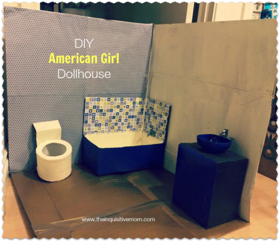 DIY American Girl Dollhouse - The Inquisitive Mom