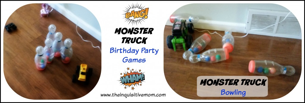 Monster Truck Birthday On A Budget