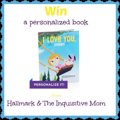 Hallmark Personalized Children's Book