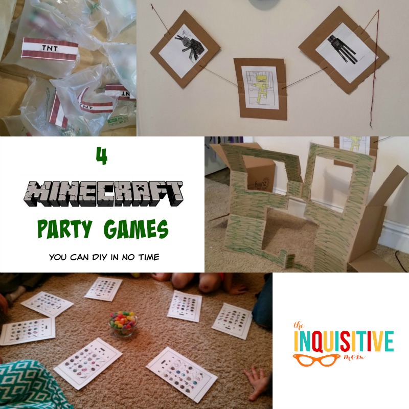 4 Minecraft Party Games You Can DIY in No Time - The