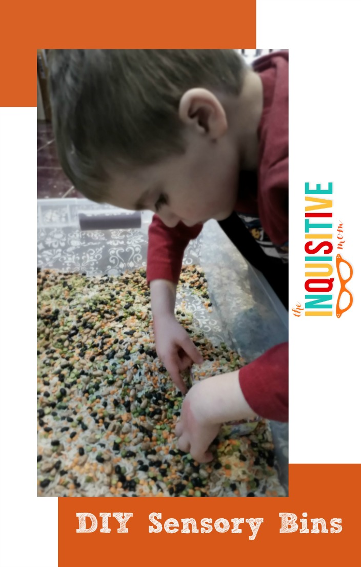 Diy Sensory Bin For Under 10 The Inquisitive Mom