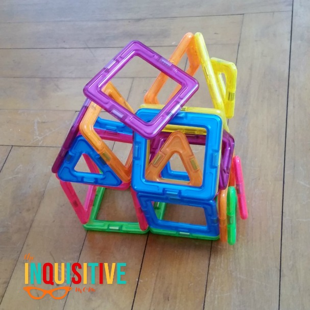Magformers Magnetic Building Toys. Our Creation.