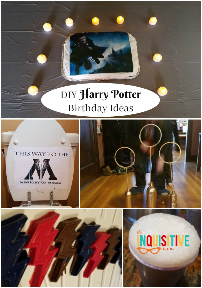Diy Harry Potter Birthday Ideas Your Wizard Will Love