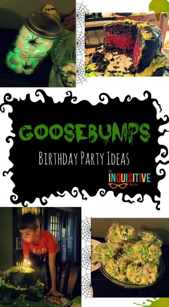 Goosebumps Birthday Party Ideas The Inquisitive Mom